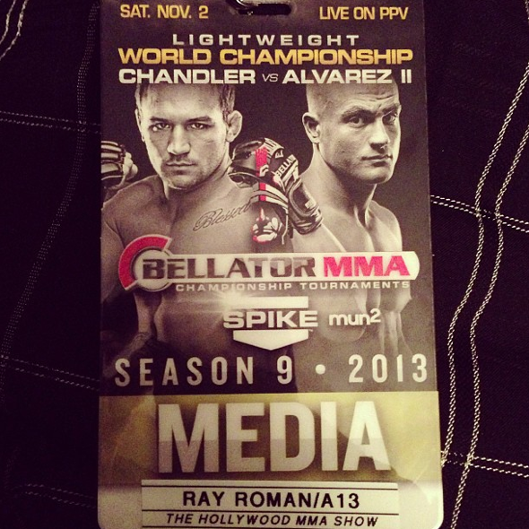 Ray Roman - Bellator 99