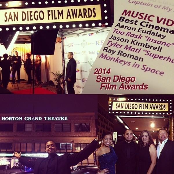 2014 San Diego Film Awards Nominee Ray Roman