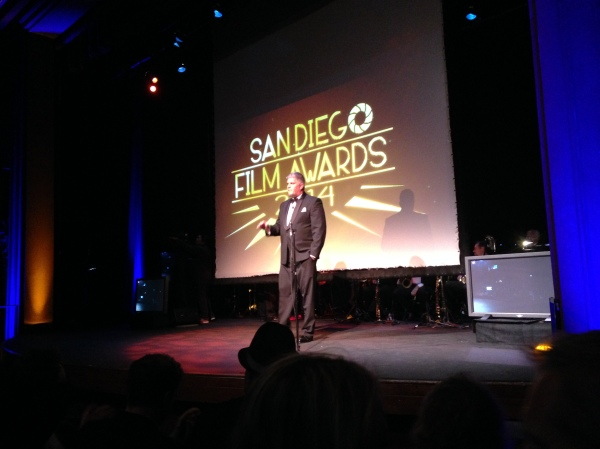 2014 San Diego Film Awards Host Chris Cantore